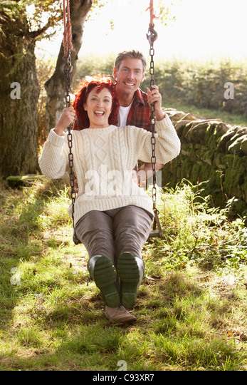 Garden Swing Stock Photos & Garden Swing Stock Images - Alamy