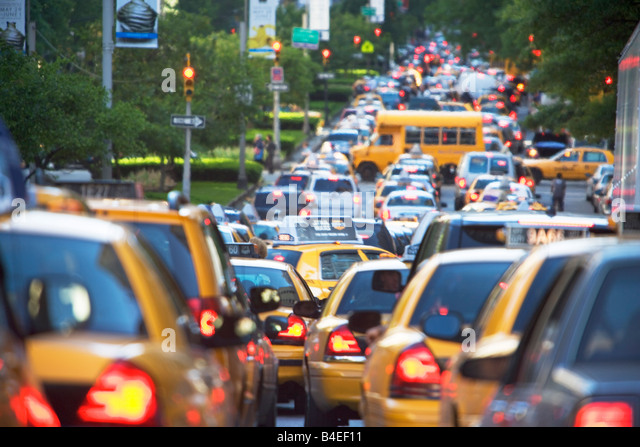 New York City Traffic Jam Stock Photos New York City