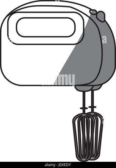 Hand Mixer Silhouette ~ Food mixer stock photos images alamy