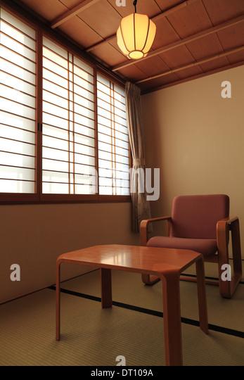Japanese Style Room - Stock Image
