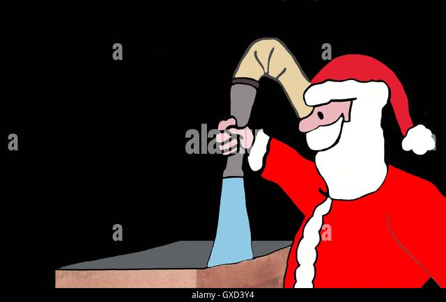 Put Out Fire In Fireplace fireplace christmas santa claus chimney stock photos & fireplace