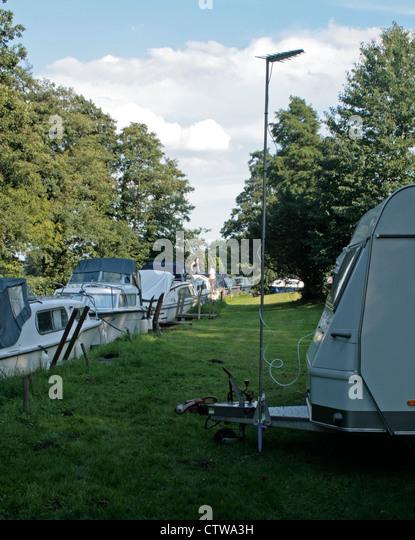 da campsites England East Anglia Norfolk