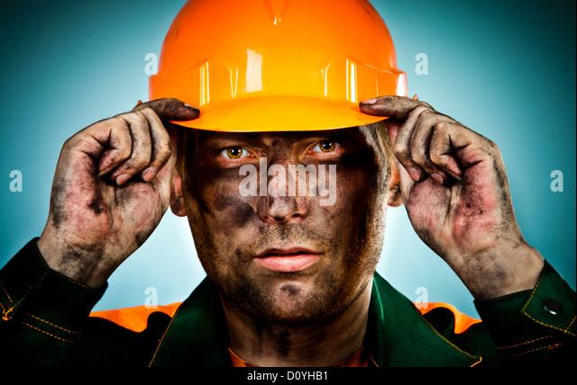 Mine Worker Coal Face Stock Photos & Mine Worker Coal Face ...