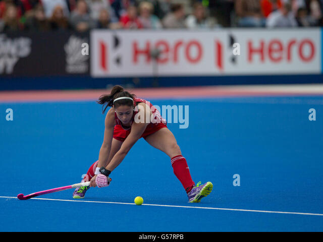 Investec Womens Hockey Champions Trophy 2016 Queen Elizabeth Olympic Park June Sam