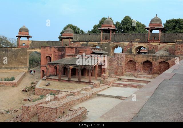 Akbar The Great Palace Akbars Stock Photos &a...