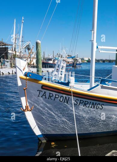 Sponge fishing industry stock photos sponge fishing for Tarpon springs fishing