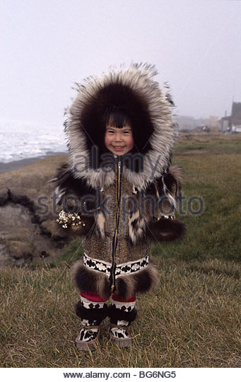 Eskimo in parka