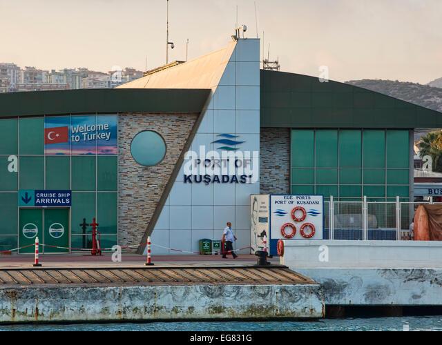 Kusadasi stock photos kusadasi stock images alamy - Ephesus turkey cruise port ...