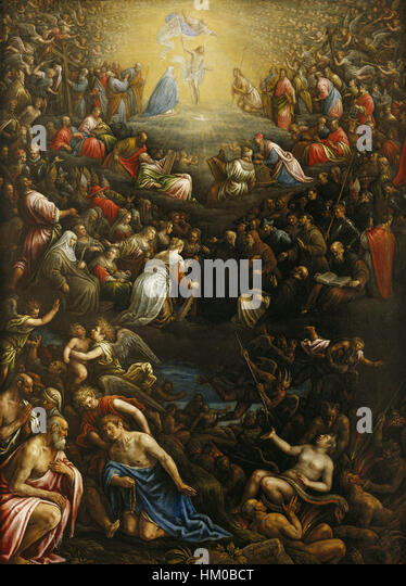 bassanos last judgment Last judgment, frescoes by michelangelo buonarroti (fine art art reproduction   monastero san vincenzo martire (bassano romano, italy) musei vaticani.