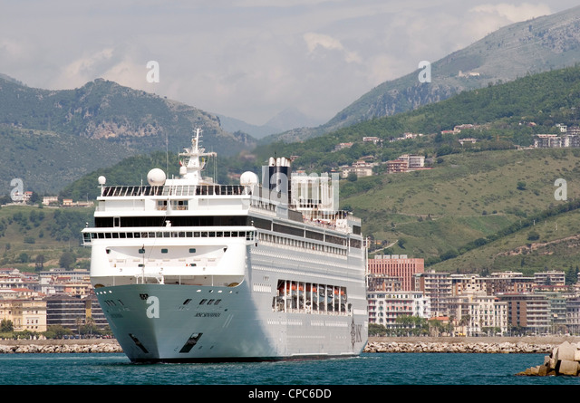 Italian cruise line stock photos italian cruise line for Garage costa marseille
