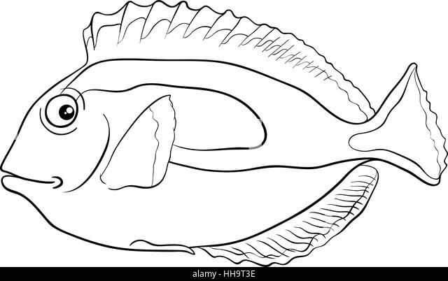 regal tang coloring pages - photo#8