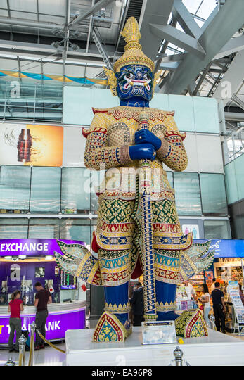 Guardian International Currency: Guardian Huge Statue Airport Bangkok International