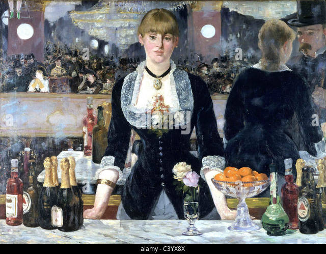 an analysis of edouard manets last painting a bar at the folies bergere In this thesis i provide analysis of several nineteenth-century artworks in   edouard manet and the construction of the flâneur/flâneuse  manet's last  painting, a bar at the folies-bergère (1882), addresses the ambiguity of.