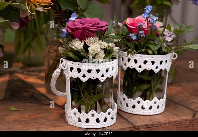 Two White Vases Stock Photos Two White Vases Stock Images Alamy
