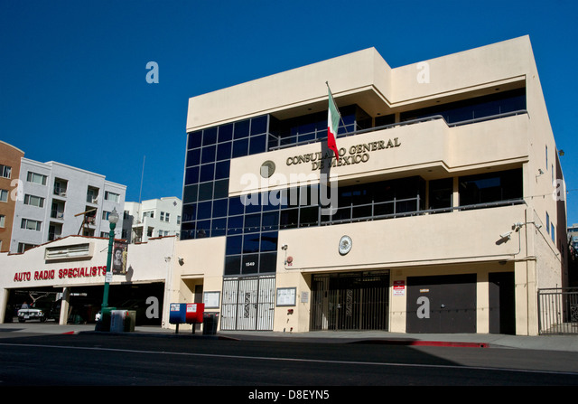 Mexican territory stock photos mexican territory stock for Consul building