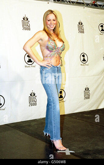 Mariah carey 2000 vh1 divas 2000 stock photos mariah for Diva 2000