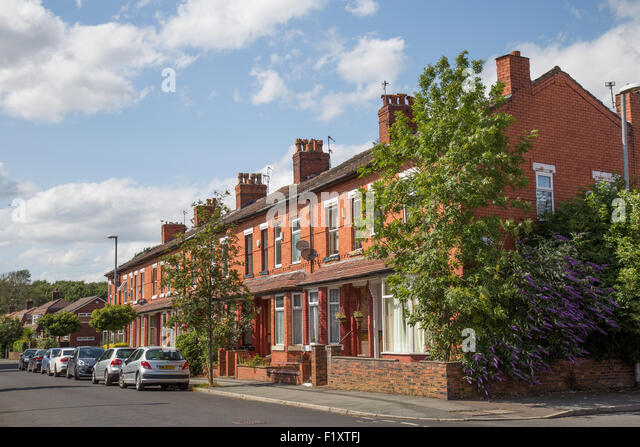 Terrace housing manchester stock photos terrace housing for Terrace nq manchester