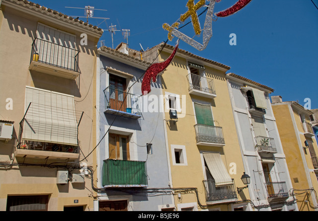 Villajoyosa stock photos villajoyosa stock images alamy for Moorish homes