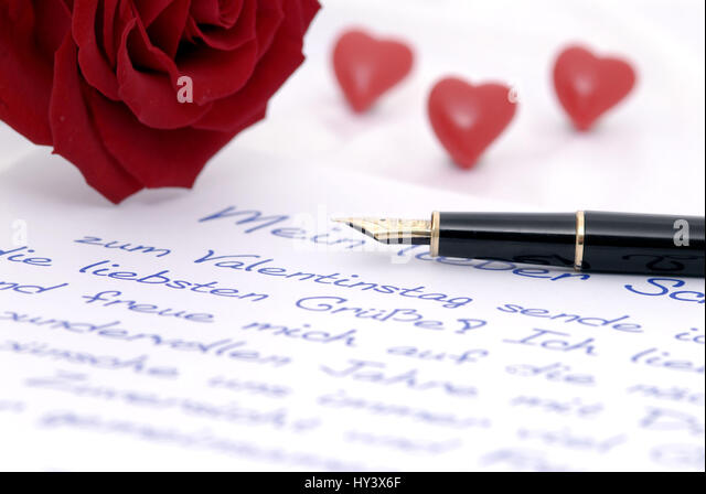 Valentinskarte Stock Photos U0026 Valentinskarte Stock Images   Alamy