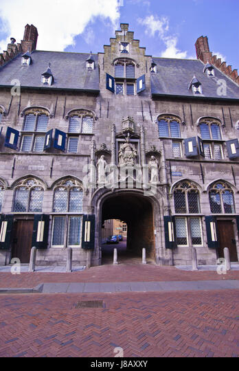 middelburg holland views of in stock image weather