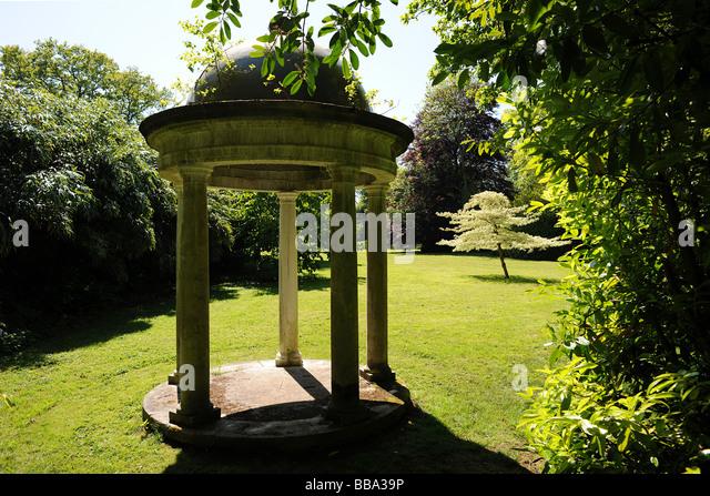 Garden Folly At East Harptree, Somerset   Stock Image