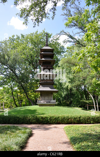 Japanese Garden Fort Worth Texas Stock Photos Japanese Garden Fort Worth Texas Stock Images