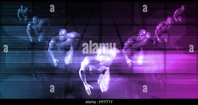 network super fast response time stock photos & network super fast, Muscles