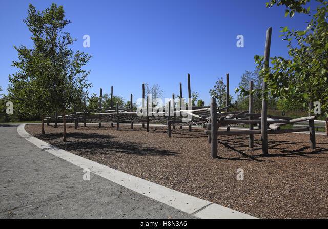 Landscaped playground stock photos landscaped playground The kinder garden llc of kent island