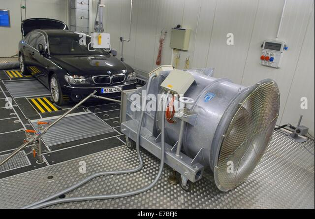 Wind tunnel test stock photos wind tunnel test stock for Motor vehicle emissions test