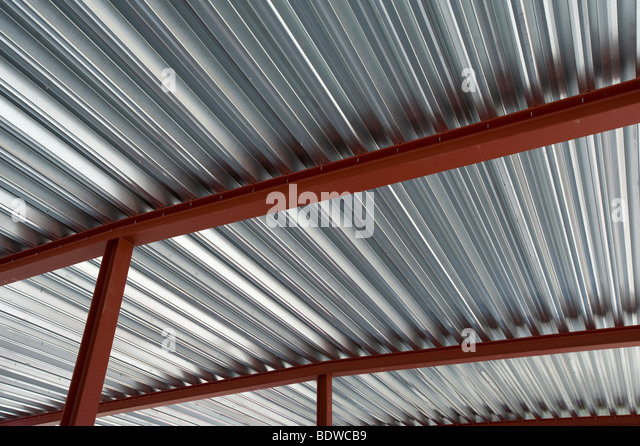 Captivating Tin Roof   Stock Image