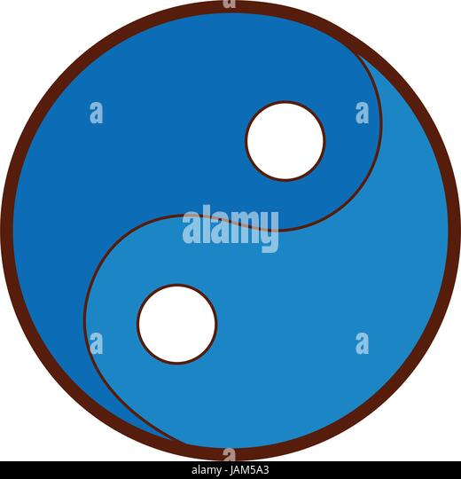 taoism stock vector images alamy rh alamy com Yin Yang Symbol Meaning Cool Yin Yang Designs