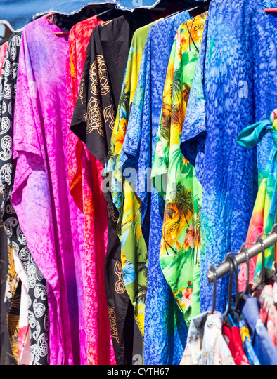 Clothes Market Stall Stock Photos & Clothes Market Stall ...