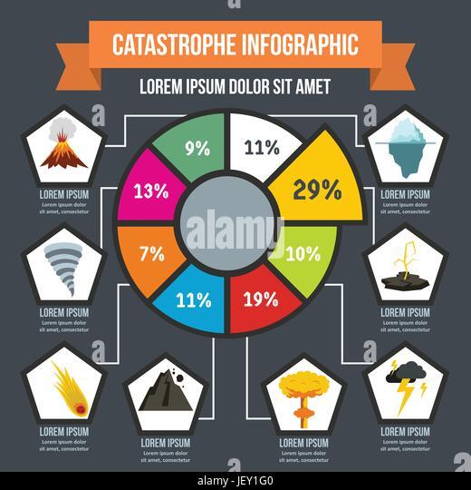 Natural Disaster Infographic Stock Photos Natural Disaster