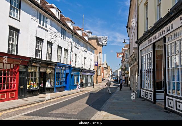 Hertford United Kingdom  city photos gallery : Street Hertfordshire Stock Photos & Street Hertfordshire Stock Images ...