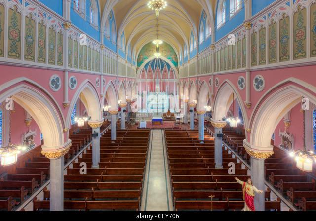 Gothic Revival Interior american gothic revival interior stock photos & american gothic