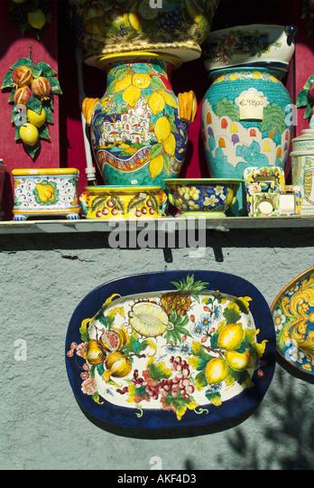 Italian Hand Painted Village Plate Souveniers