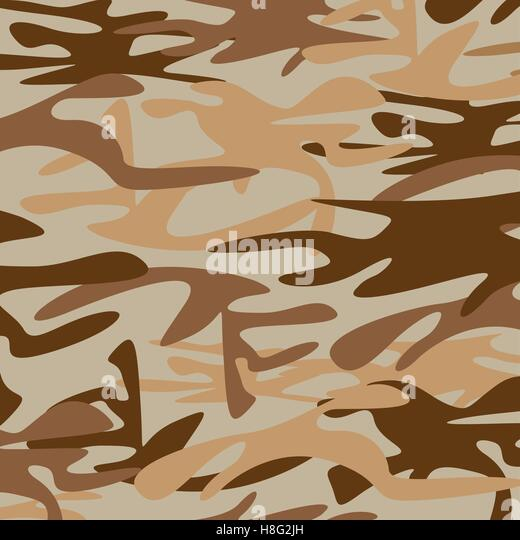 Camouflage Pattern Military Army Seamless Vector Background Material