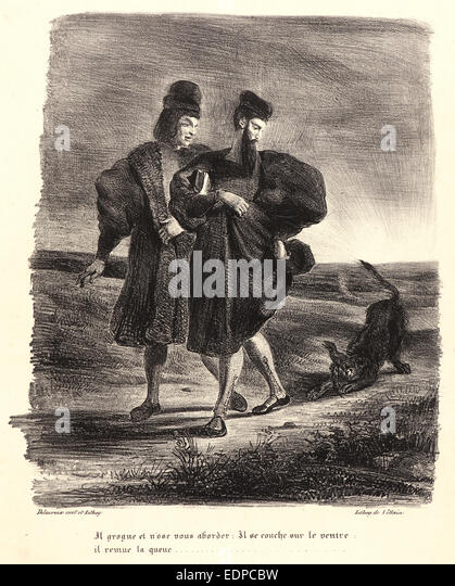 how to give a dog a haircut faust stock photos amp faust stock images alamy 1863 | eugne delacroix french 1798 1863 faust mephistopheles and the water edpcbw