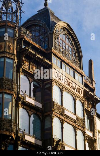 Art Nouveau Building Belgium Stock Photos Art Nouveau Building Belgium