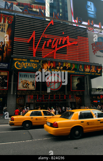 Virgin Megastore in Times Square to