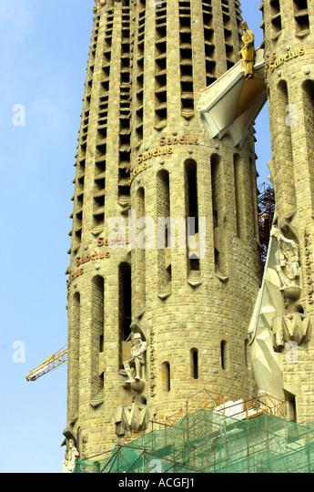 Cathol stock photos cathol stock images alamy for Antoni gaudi sagrada familia architecture