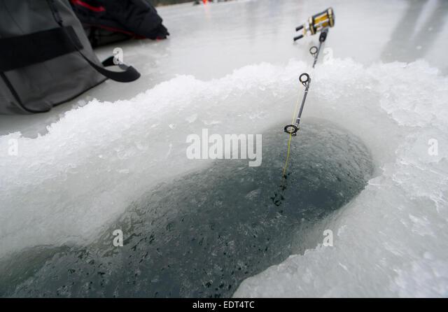 Norway fishing rod stock photos norway fishing rod stock for Frozen fishing pole