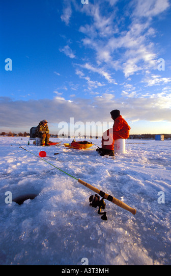 Ice Fishing Stock Photos Ice Fishing Stock Images Alamy