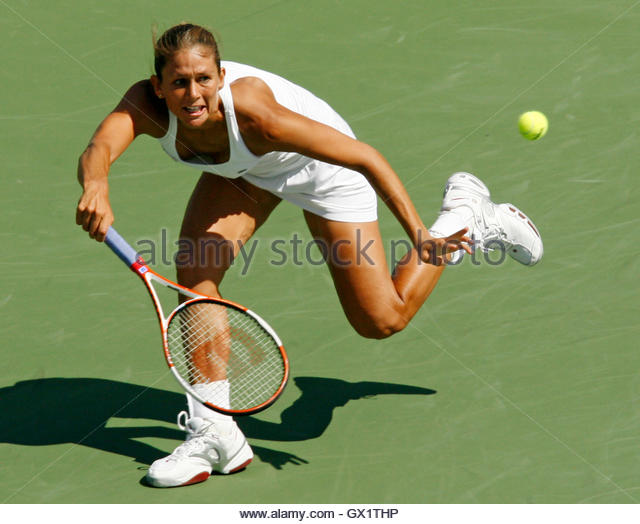 ... of China at the Rogers Cup women's tennis tournament in - Stock Image