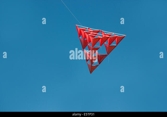 tetrahedron kite template - unusual hobby stock photos unusual hobby stock images