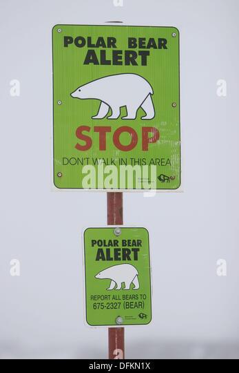 polar-bear-alert-sign-outside-churchill-