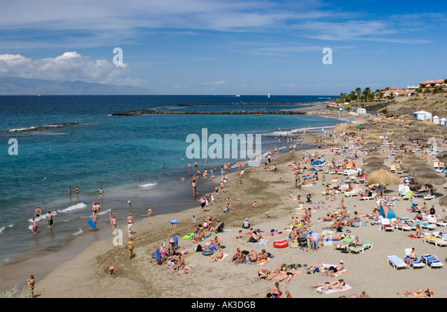 Playa Del Duque Costa Adeje Stock Photos & Playa Del Duque Costa Adeje St...