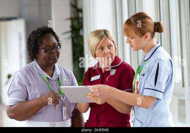 Nurses Ward Uk Stock Photos & Nurses Ward Uk Stock Images - Alamy