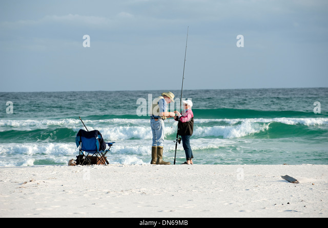 Oaps and beach stock photos oaps and beach stock images for Pensacola beach fishing