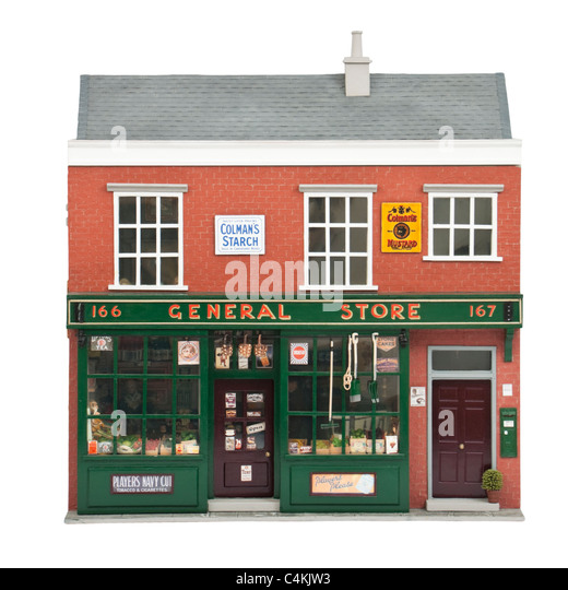 General Store Stock Photos General Store Stock Images: Edwardian House Stock Photos & Edwardian House Stock